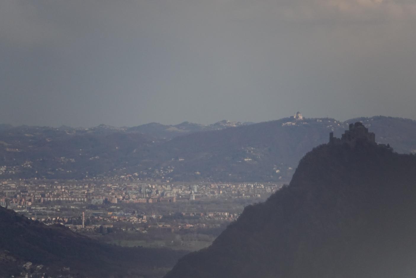 Sacra di San Michele, Superga e colline di Torino  | Foto L. Giunti